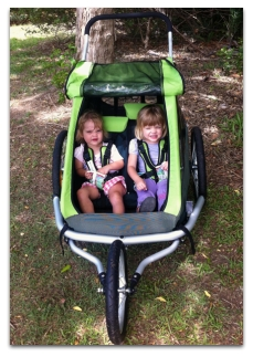 Croozer double running buggy